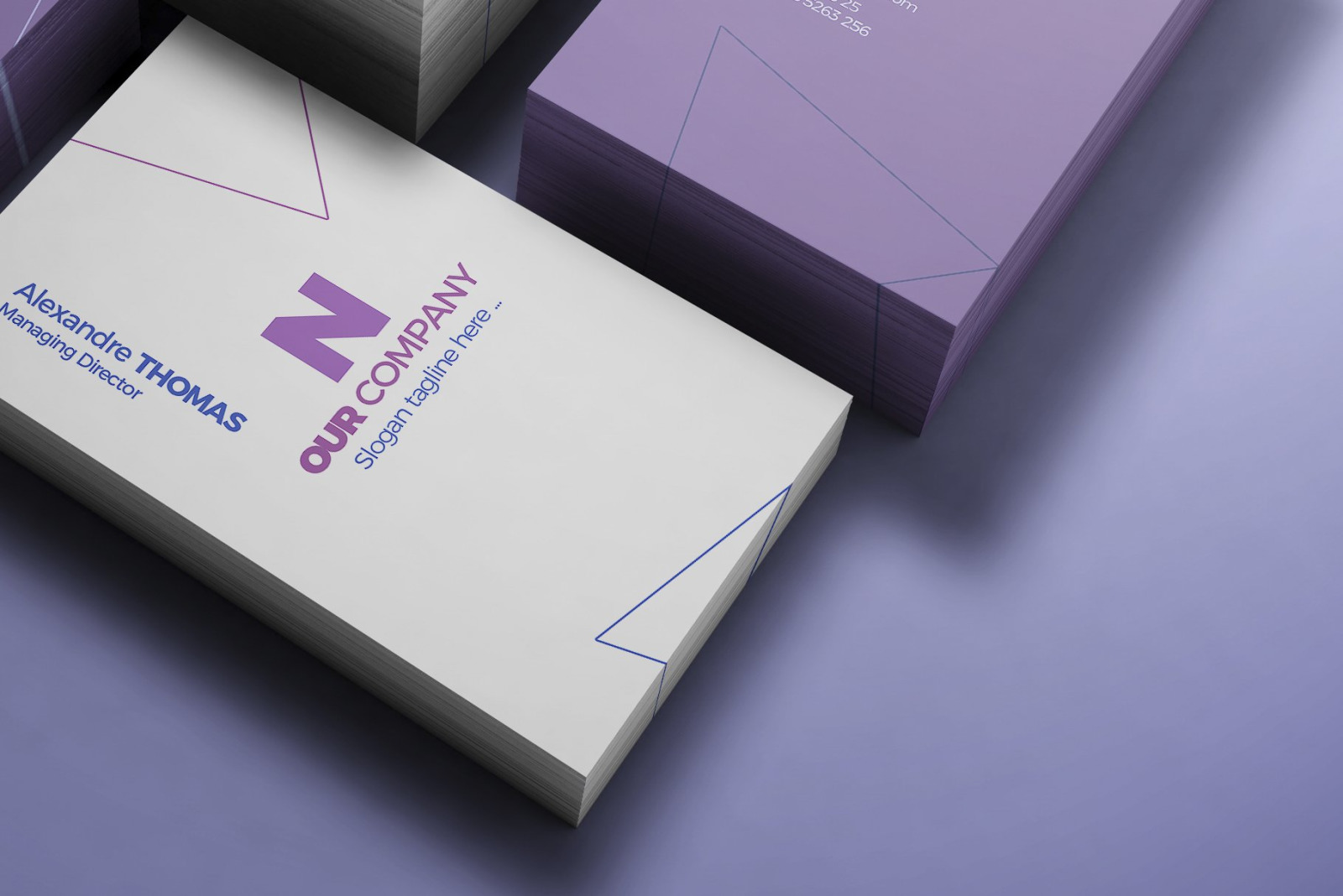 Business Card Mock-Up 14