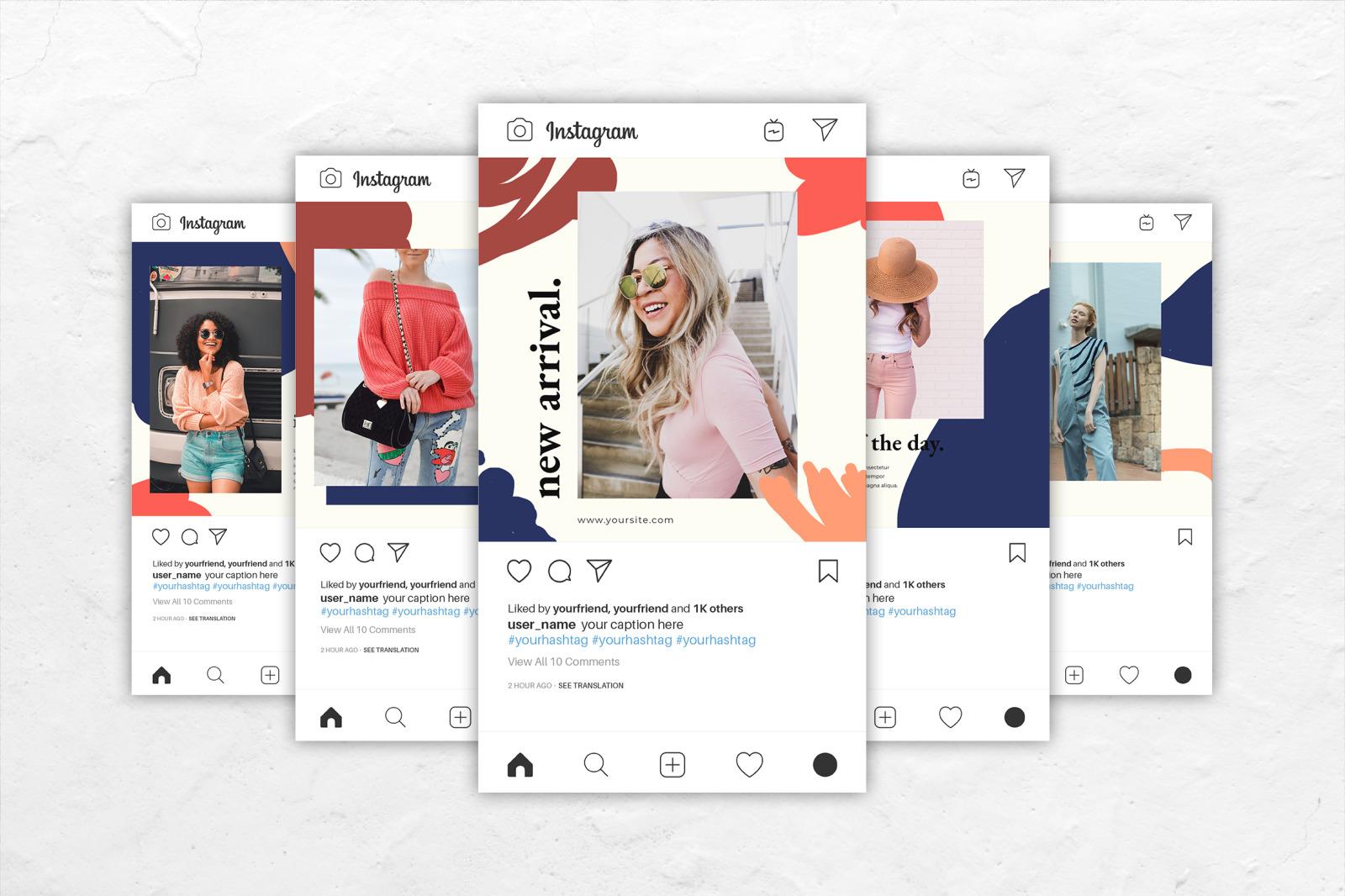 Instagram Banner Trend Fashion