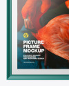 Glossy Picture Frame Mockup