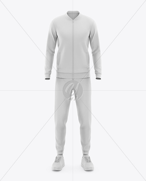 Men's Sport Kit Mockup - Front View