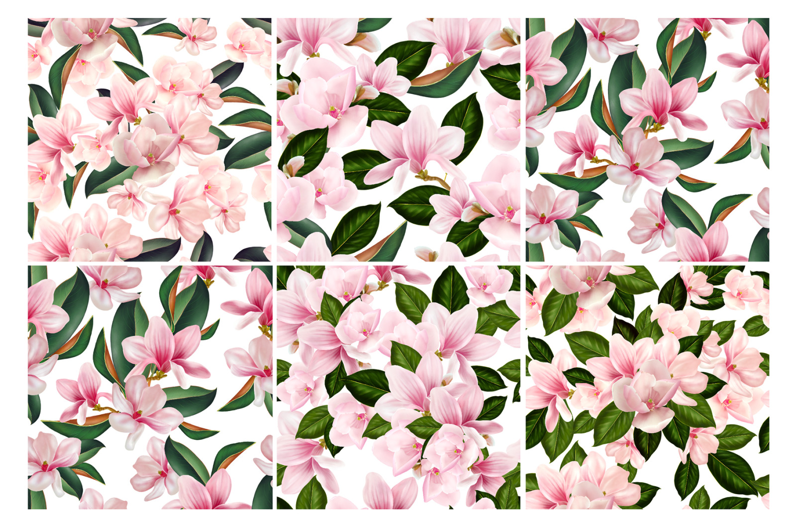 Magnolia Digital Flowers