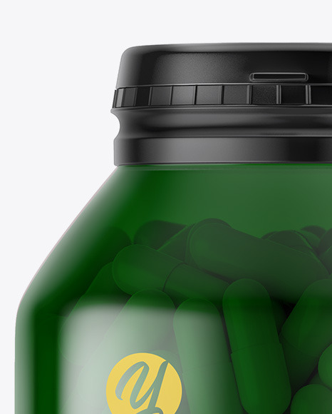 Download Frosted Pills Bottle Mockup PSD - Free PSD Mockup Templates