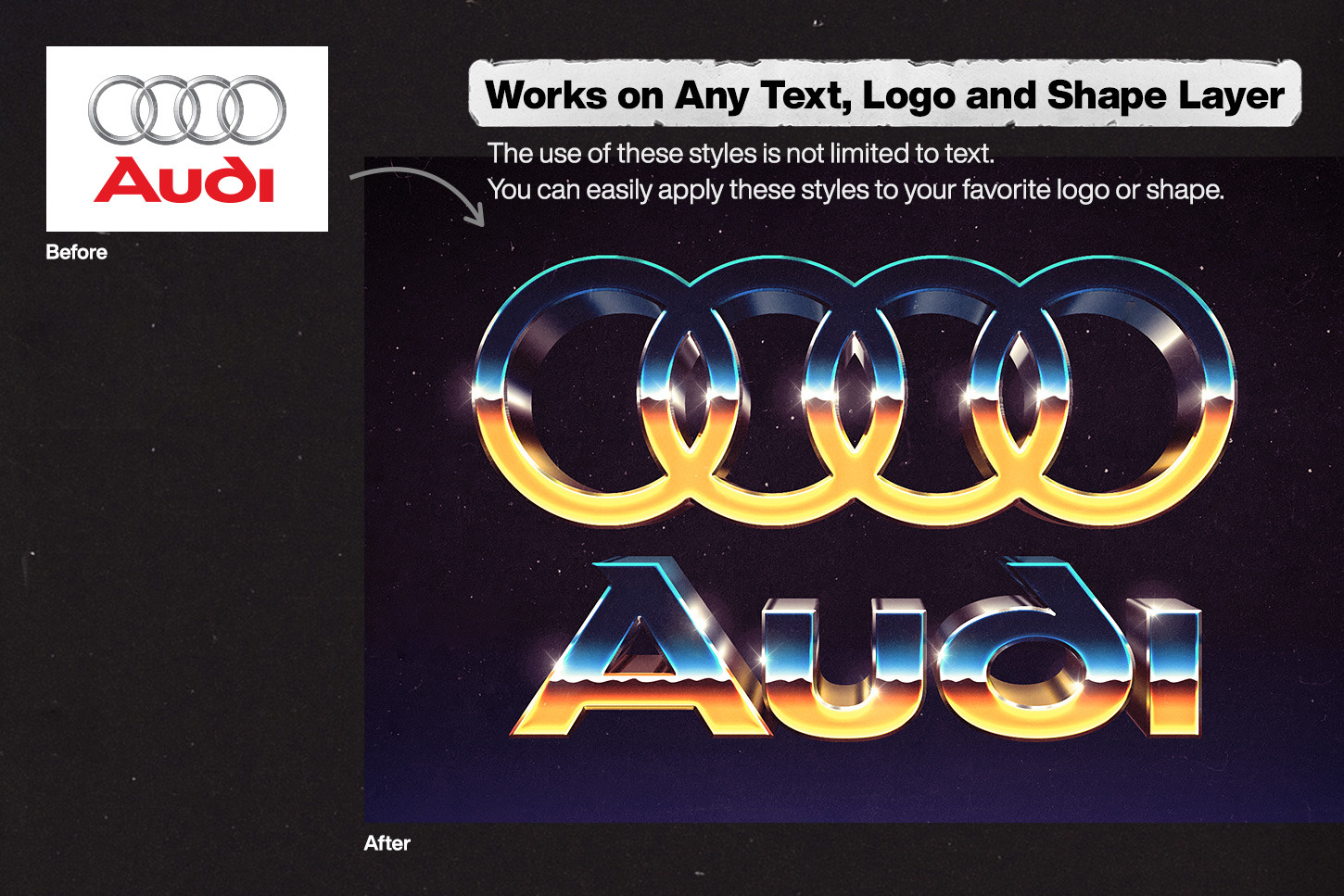 80s Text and Logo Effects Vol.4
