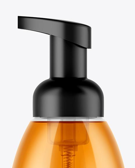 Clear Soap Bottle Mockup