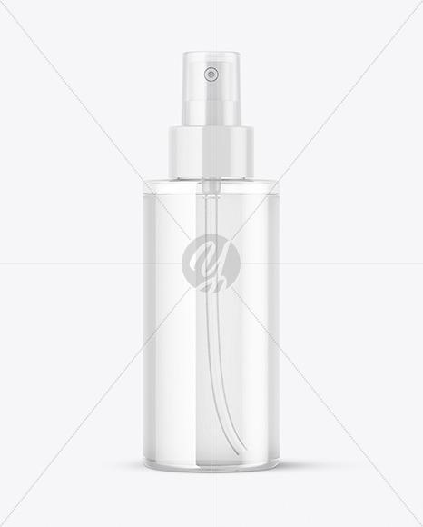 Download Glass Spray Bottle Mockup Free PSD - Free PSD Mockup Templates