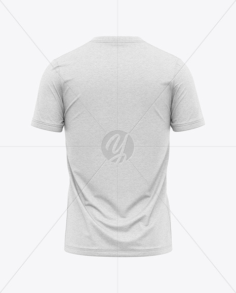 Download Crew Neck Soccer T Shirt Mockup Back View Yellowimages