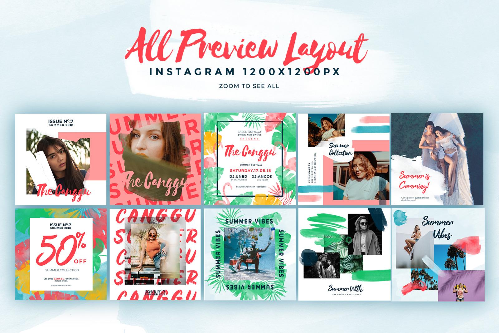 CANGGU-Social Media Pack Templates