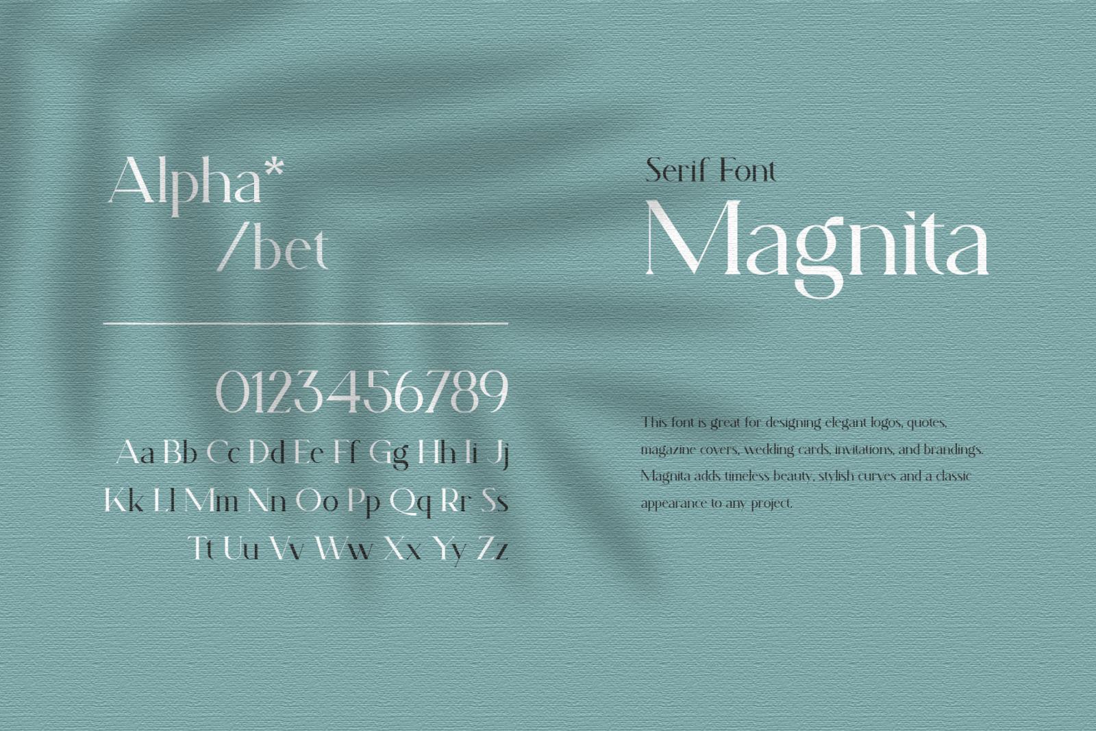 Magnita - Serif Font