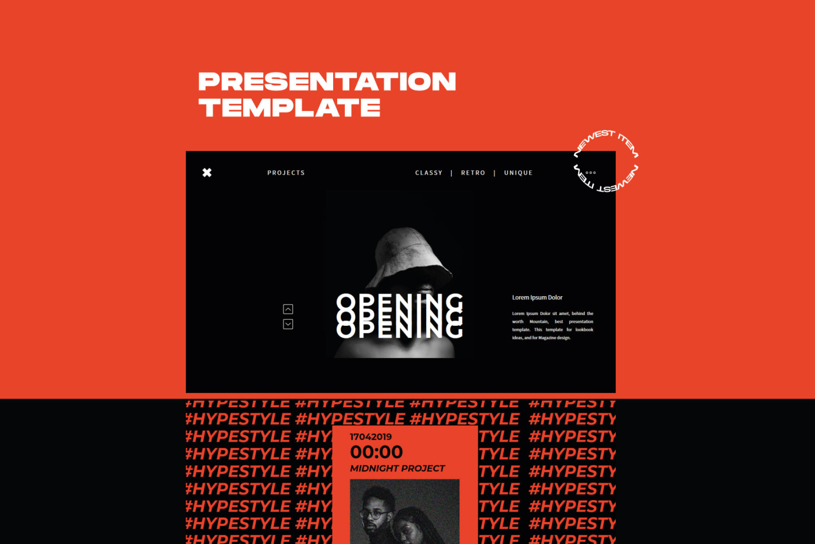 XGdragon Powerpoint Template