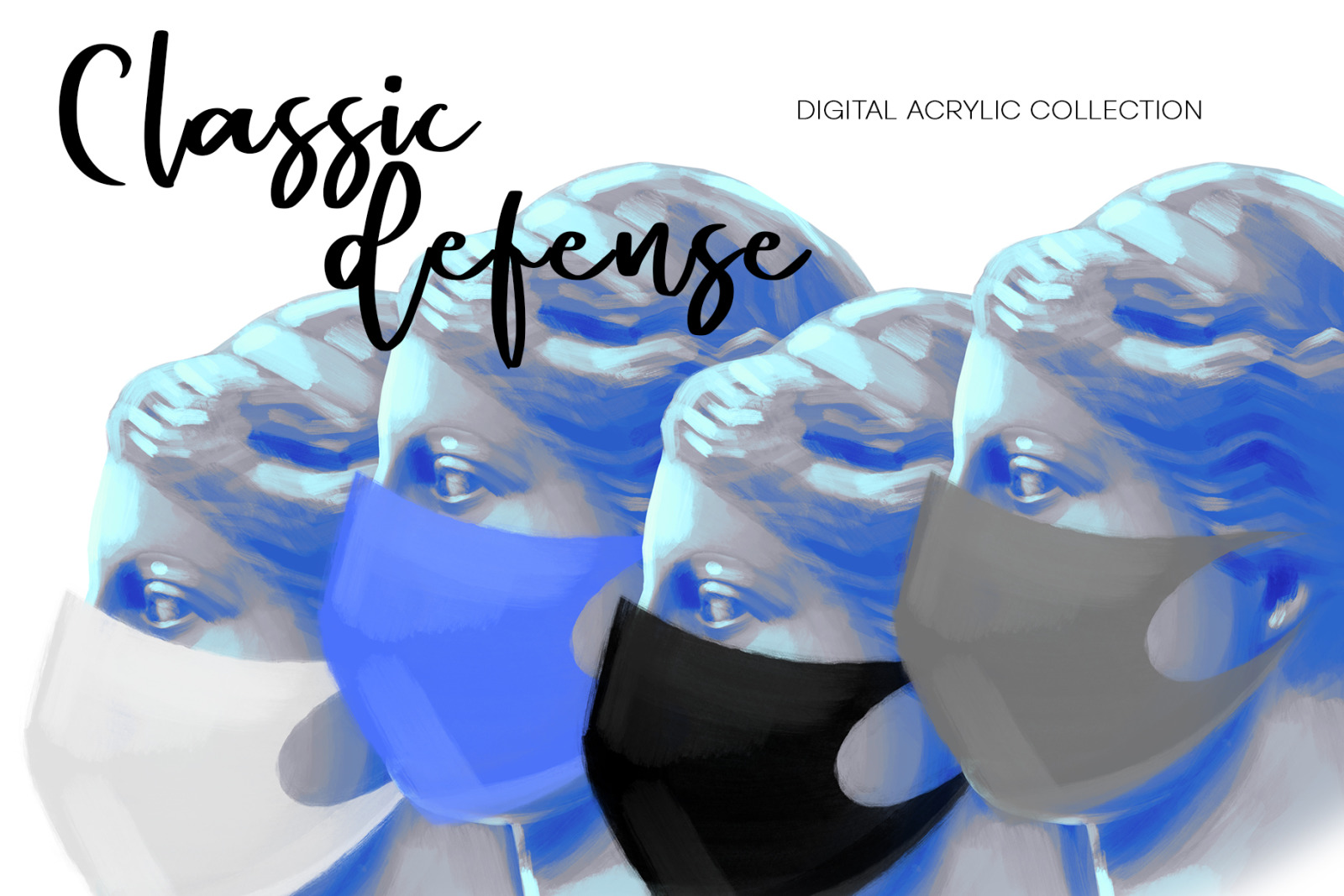 Ancient design - blooming classics. Classic defense