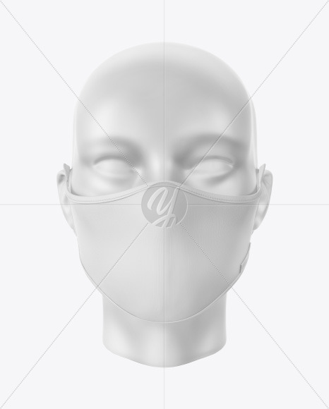 One Piece Face Mask Mockup