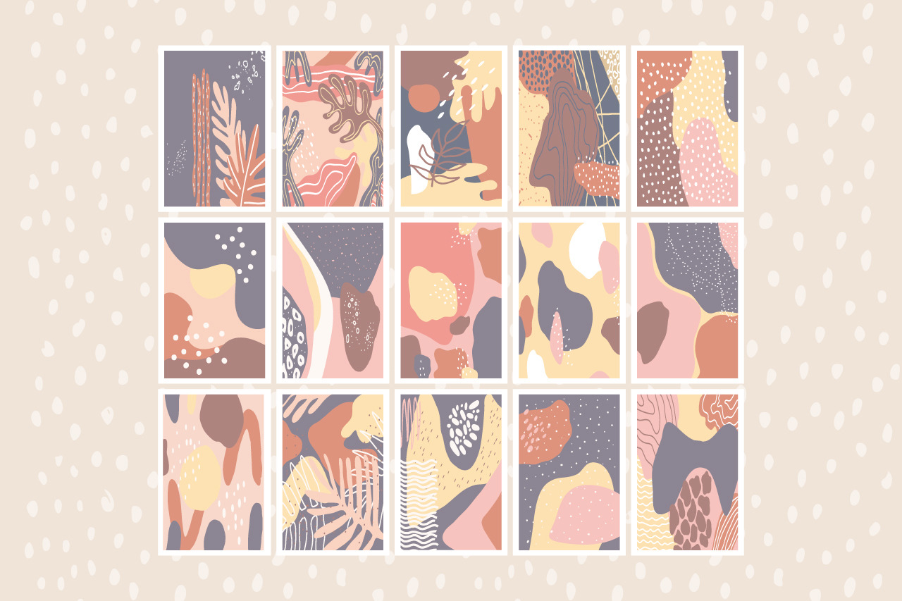 30 hand drawn artboard patterns