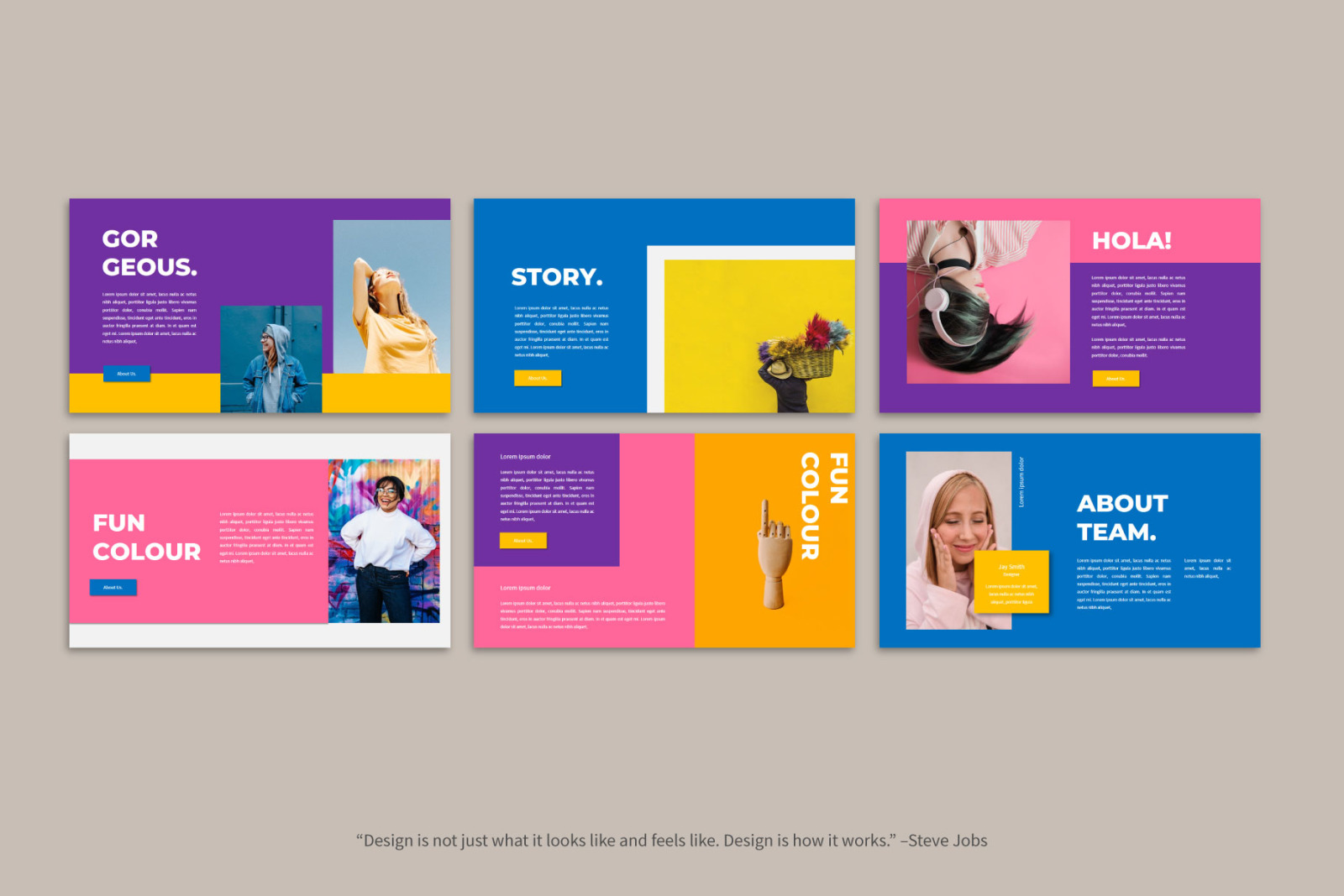 Moods - PowerPoint Template