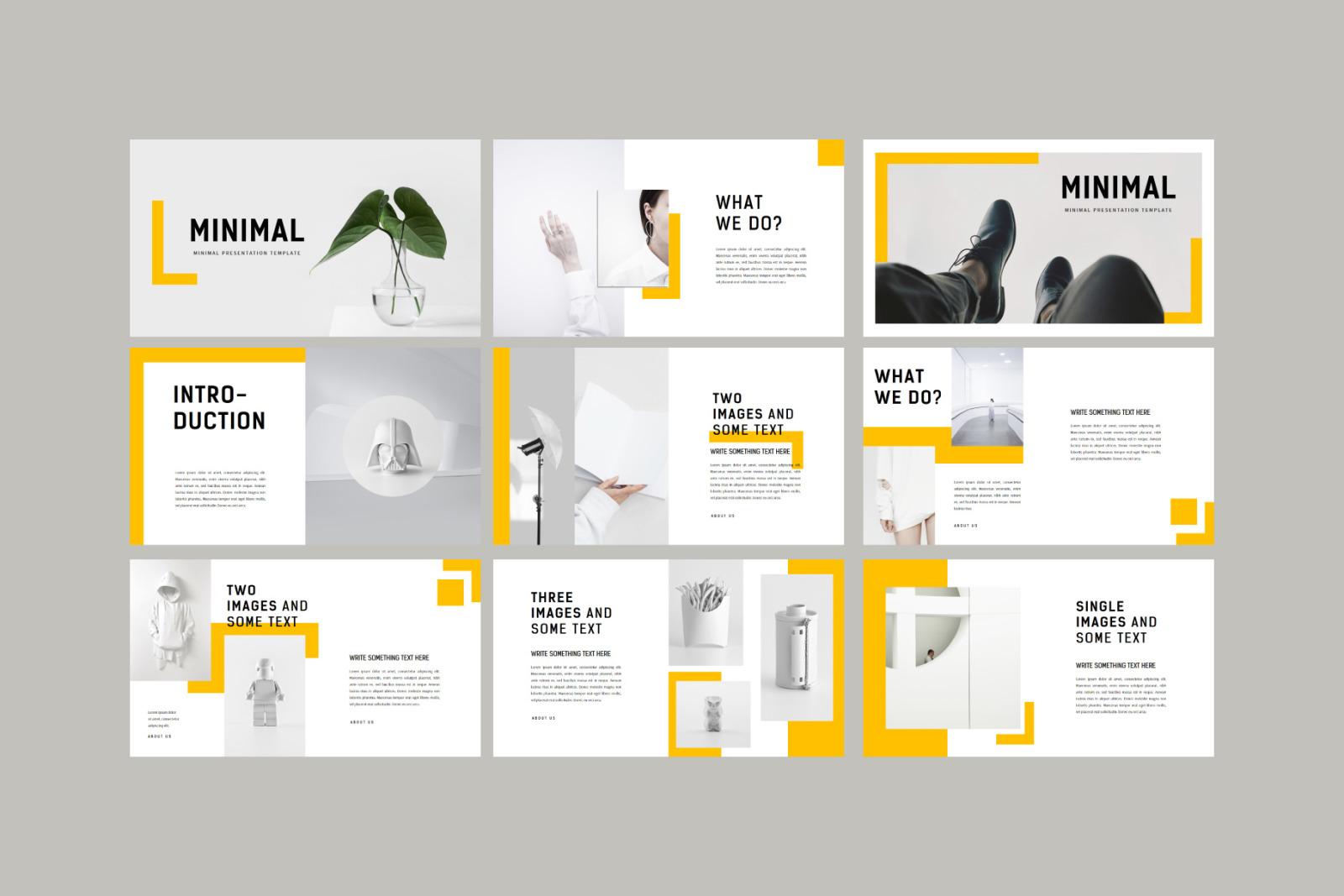 MINIMAL - PowerPoint Template