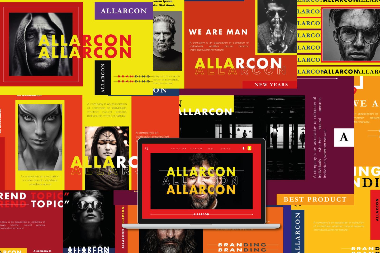 Allarcon - PowerPoint Template