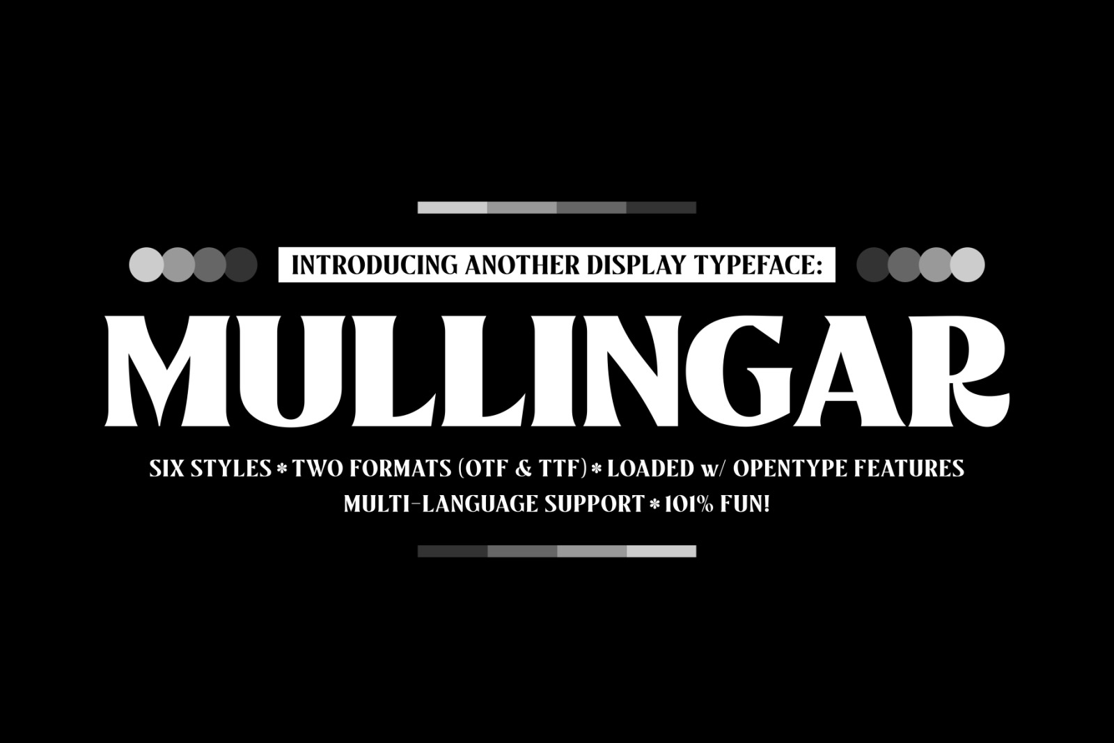 Mullingar Display Typeface