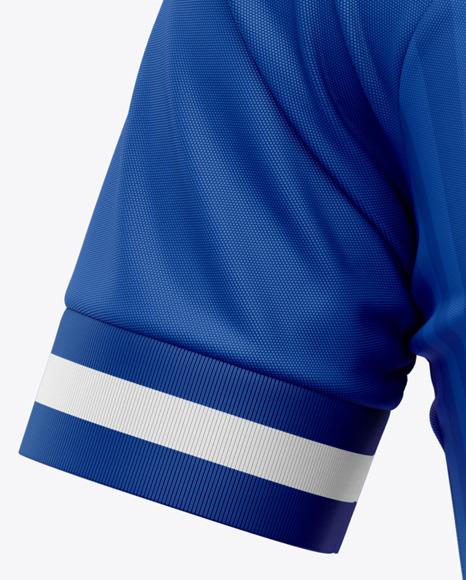 Men's Soccer Jersey T-Shirt Mockup - Front View - Football Jersey Soccer T-shirt