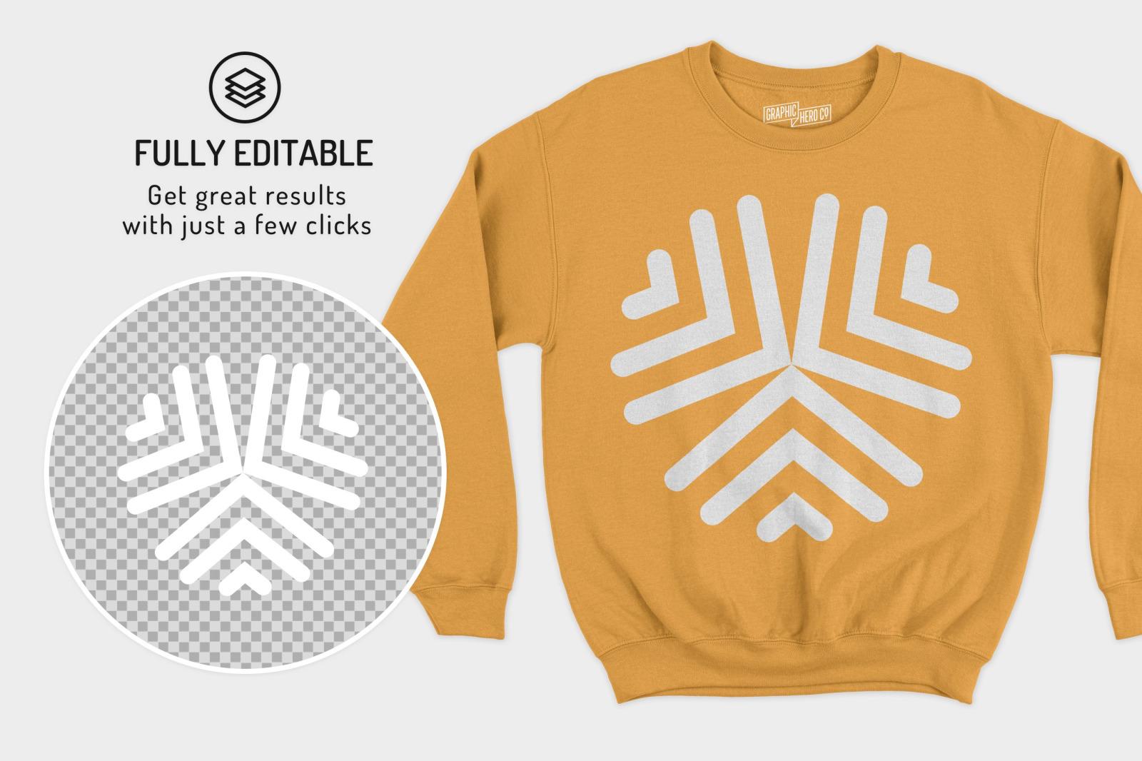 Gildan Crewneck Sweatshirt Mockups