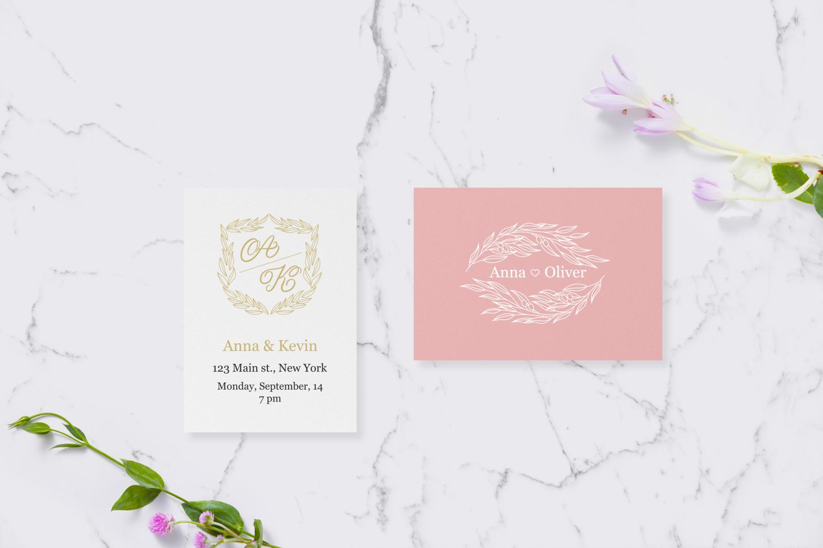 9 Wedding Logo Templates