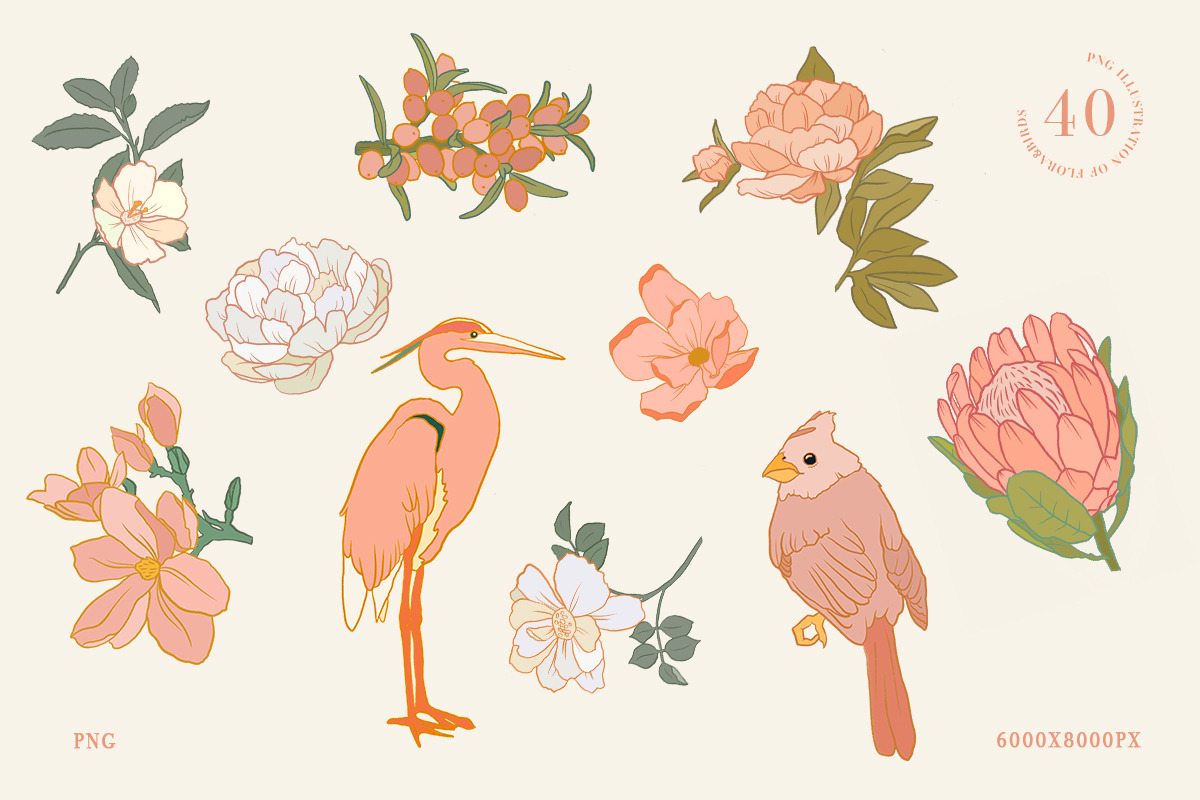 Call of Nature Collage Kit