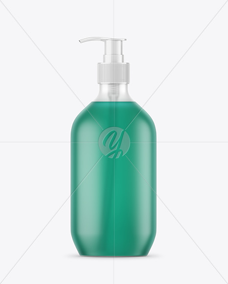 Download Clear Frosted Liquid Soap Bottle Mockup PSD - Free PSD Mockup Templates