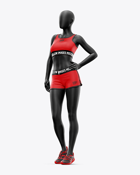 Women's Fitness Kit Mockup