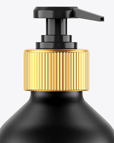 Matte Soap Bottle Mockup