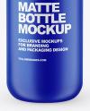 Matte Pump Bottle Mockup