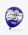 Matte Balloon Mockup