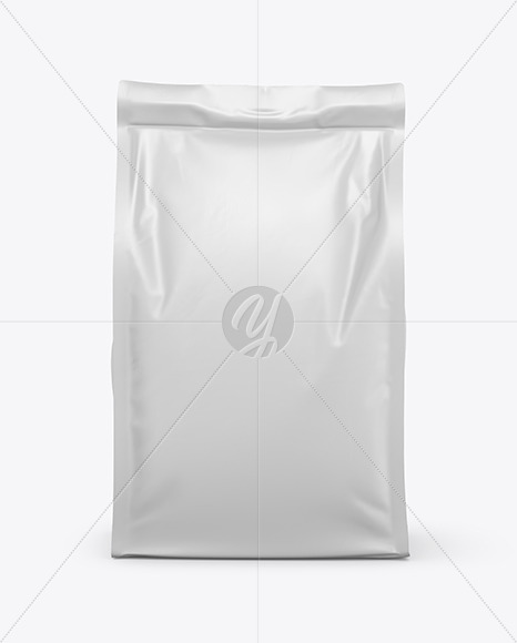 Food Bag Mockup - Front View