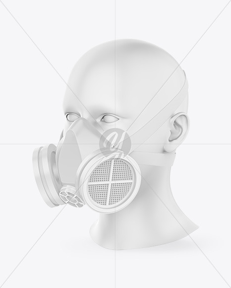 Download Respirator Mockup Yellowimages