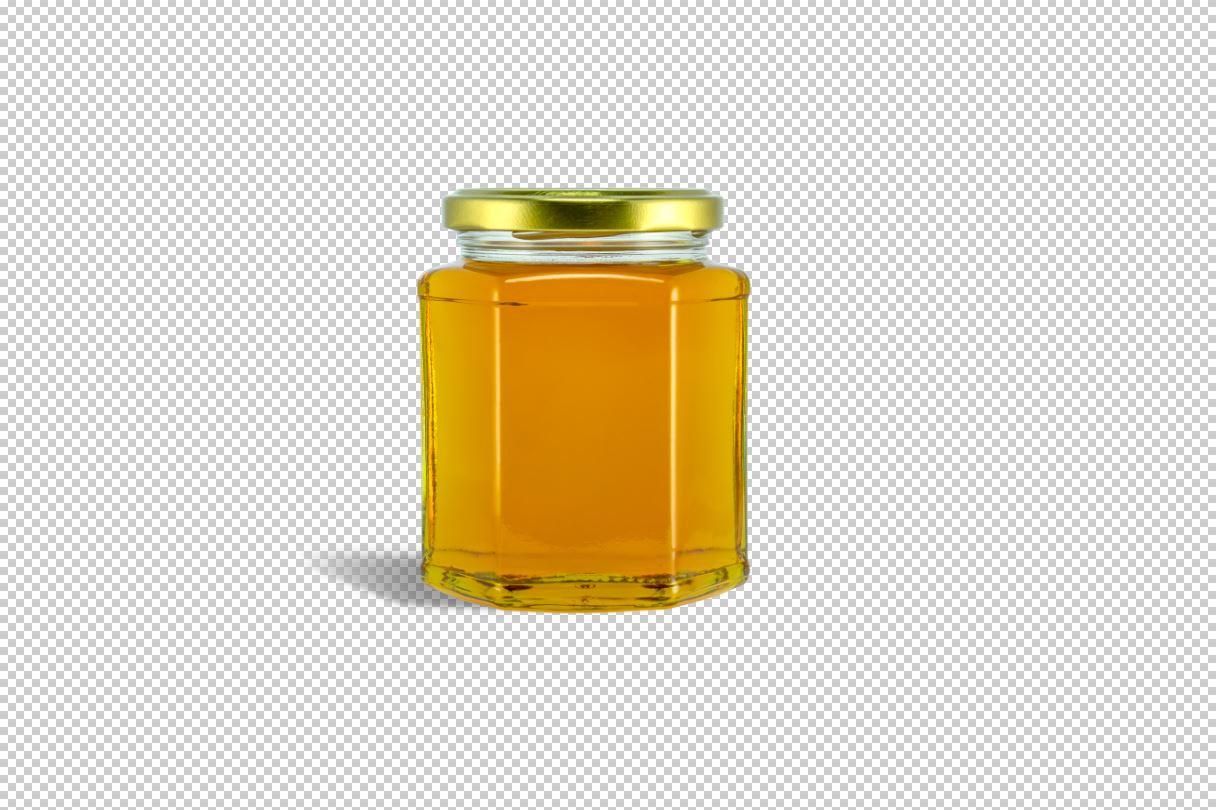 Honey - Jar mockup