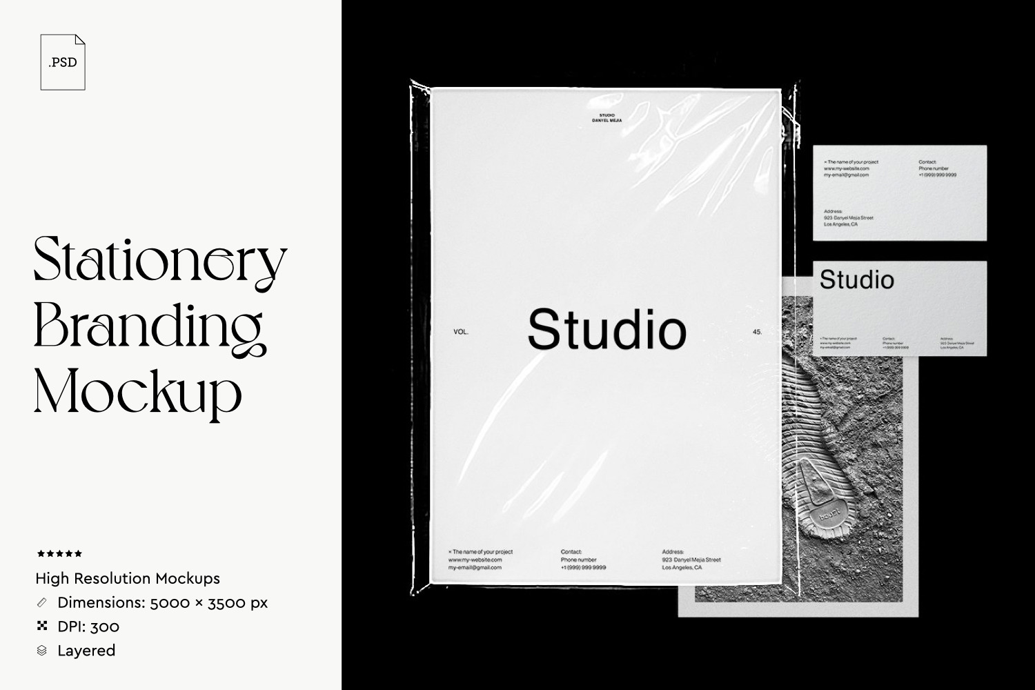 Sationery Branding Mockup In Corporate Identity Templates On
