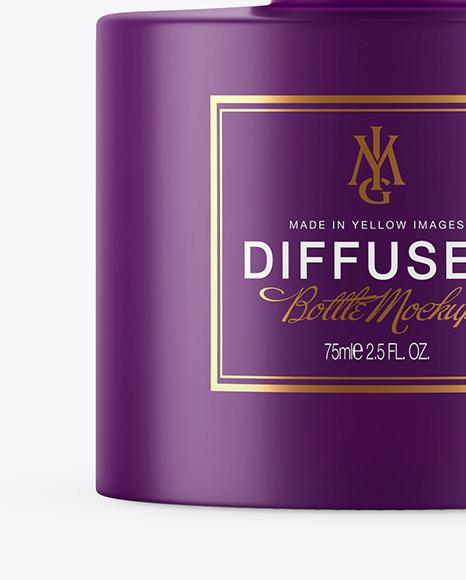Diffuser Matte Bottle Mockup