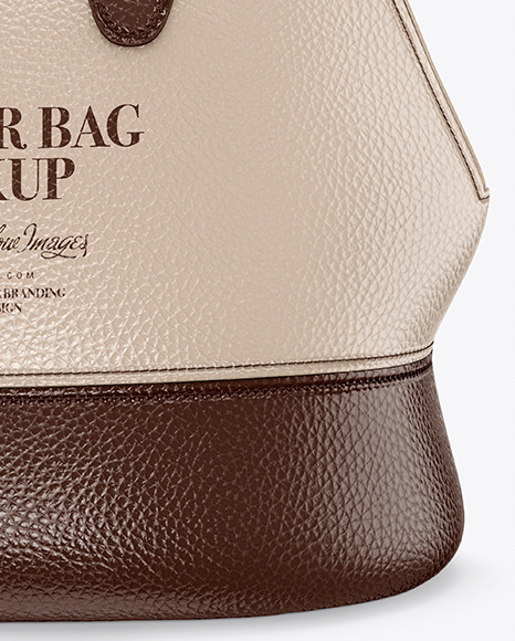 Download Leather Bag Mockup Yellowimages
