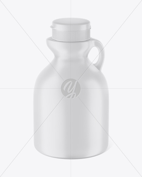 Download Glossy Plastic Maple Syrup Bottle Mockup Front View High Angle Shot In Bottle Mockups On Yellow Images Object Mockups PSD Mockup Templates