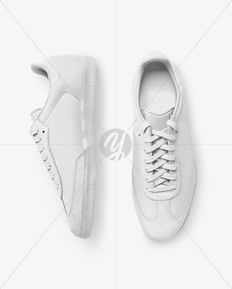 Download Sneaker Mockup App Yellow Images