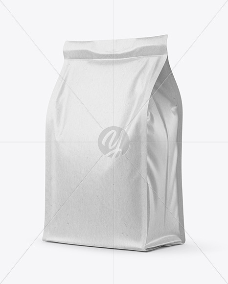 Kraft Food Bag Mockup