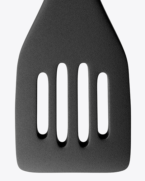 Kitchen Plastic Spatula Mockup - Front view