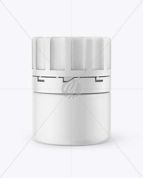 Matte Pills Jar Mockup