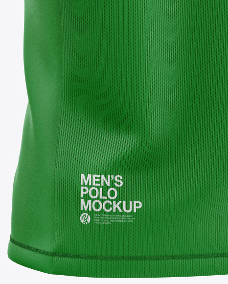 Men's Polo Mockup