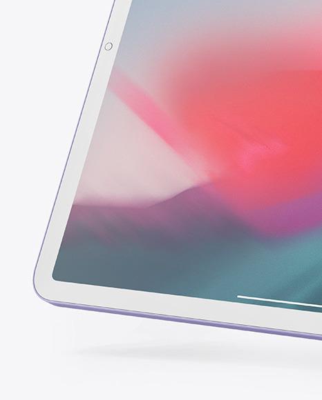 Clay Apple iPad Pro 2018 12.9 Mockup