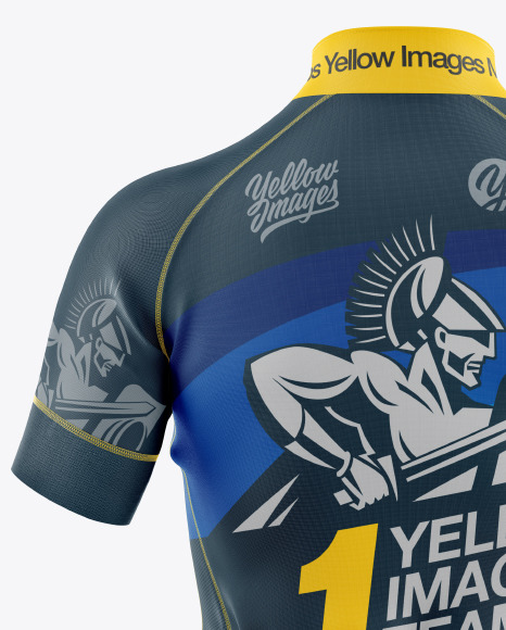 Women's Cycling Jersey Mockup