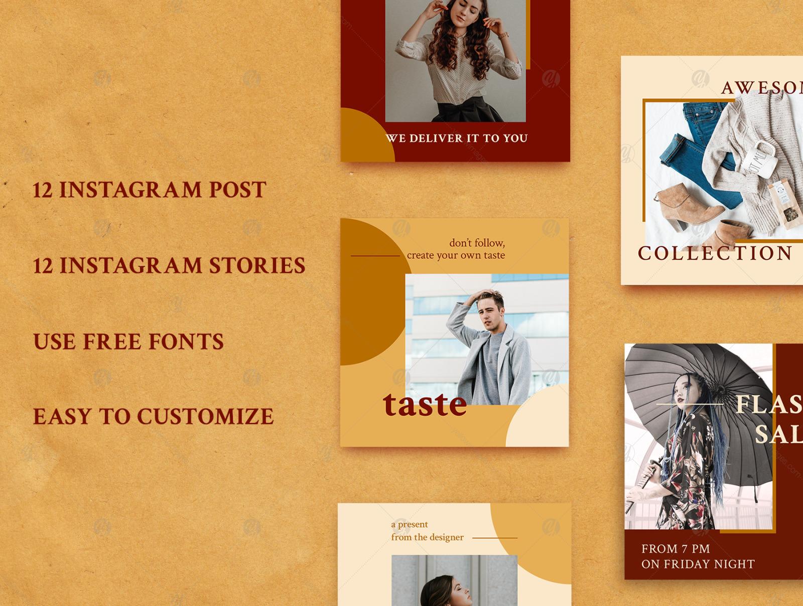 Storia - Social Media Templates for Instagram