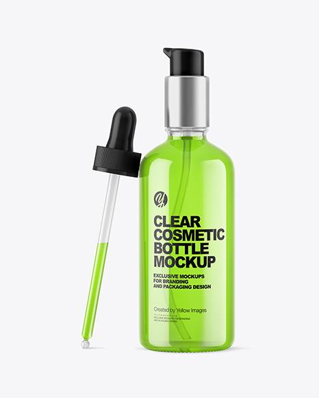 Clear Dropper Bottle W/ Pipette