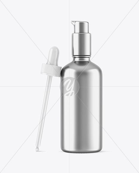 Metallic Dropper Bottle W/ Pipette