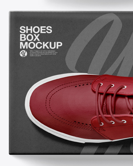 Download Realistic Sneakers Mockup Yellowimages