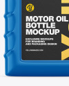 Glossy Motor Oil Bottle Mockup