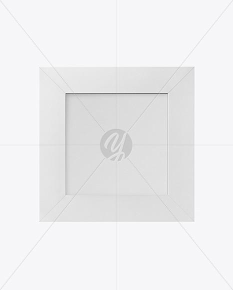 Matte Square Photo Frame Mockup