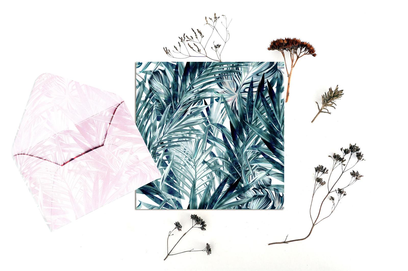 Rainforest vector tropical seamless pattern
